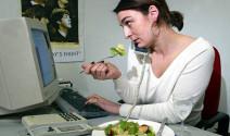 Alimentación sana también en la oficina