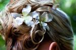Peinado de novia, el complemento más adecuado