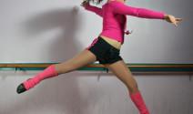 La barra de ballet para un cuerpo tonificado