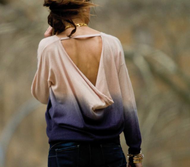 La nueva tendencia femenina, la espalda al aire