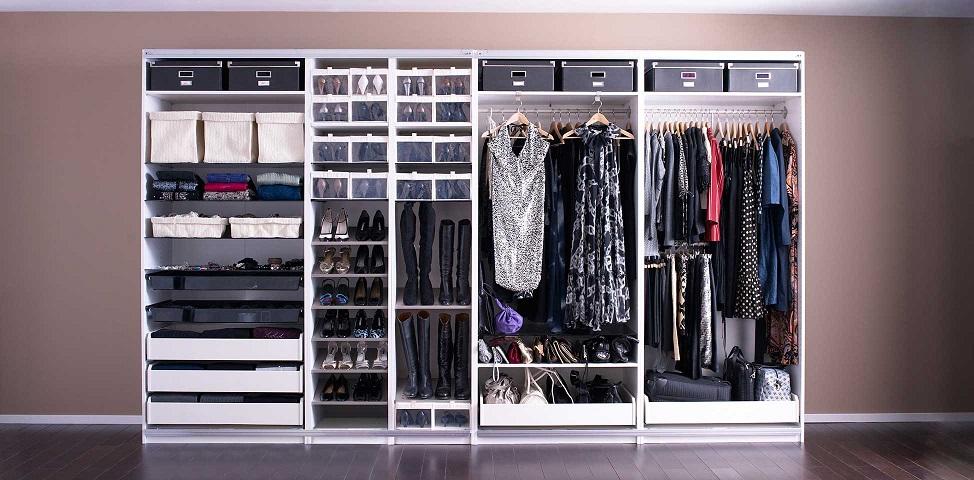 C mo optimizar el espacio en tu armario - Como hacer un armario zapatero ...