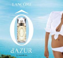 Ô d'Azur, el perfume fresco de Lancôme