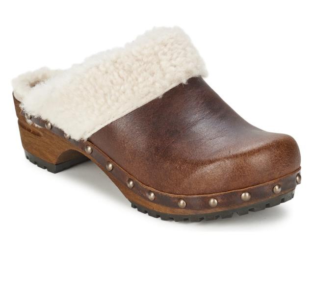 Zapatos Zuecos De Madera