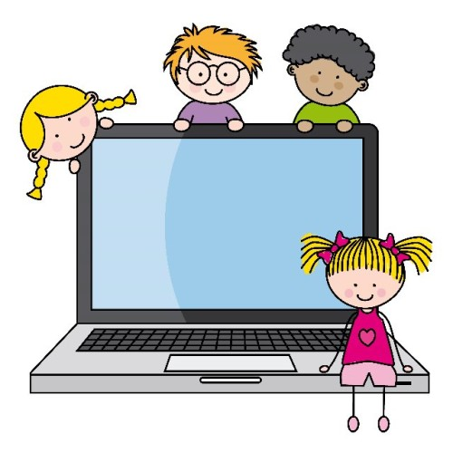 Image result for laptop kids clipart