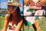 El look de boda de Paula Echevarría