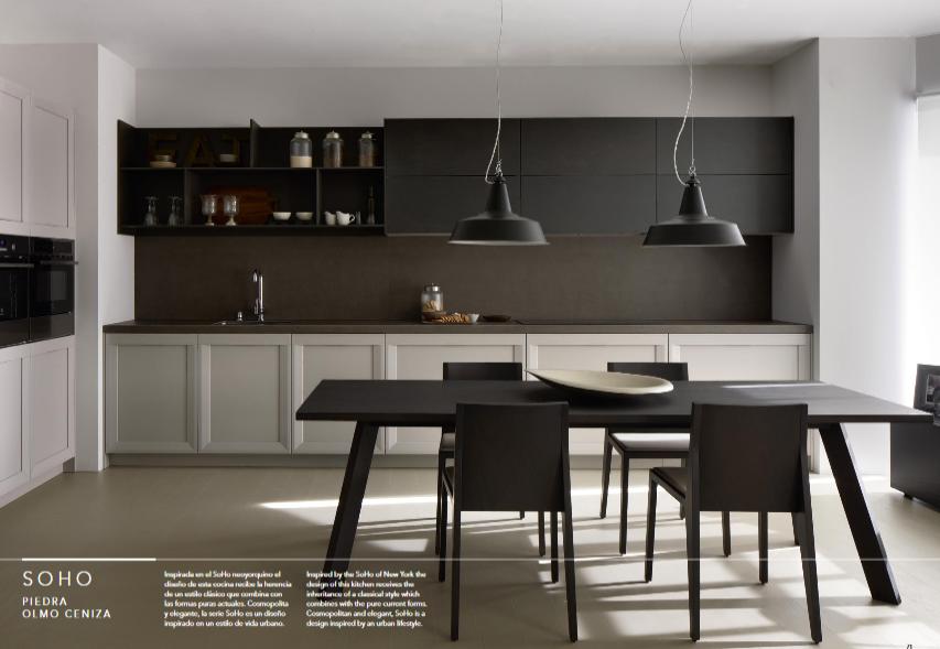 Las cocinas Dica se fabrican en España a partir de materiales de