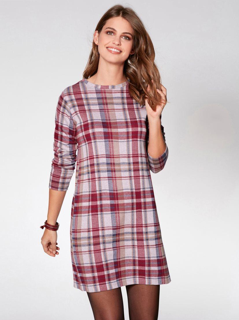 ef80620a8 vestido-tunica-de-mujer-estampado-con-encaje-y-cordones-estampado-marino  vestidos online venca