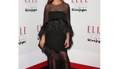 Sara Carbonero, elegancia natural en la fiesta de la revista Elle
