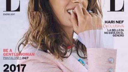 Mar Saura portada de la revista Elle México