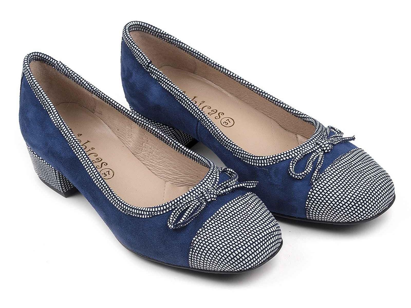Zapatos de Ante Puntos River