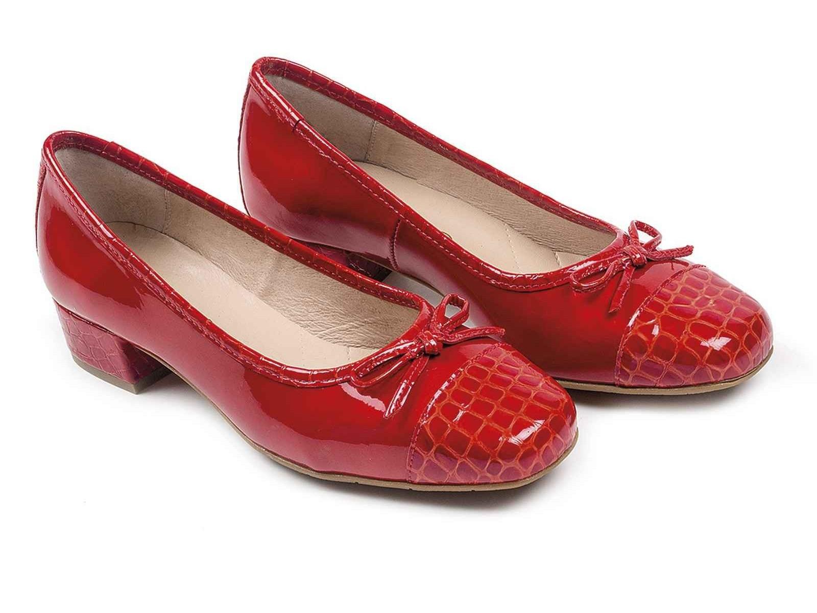 Zapatos de Charol + Keral Rojo