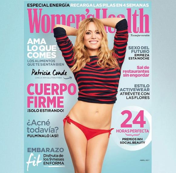 Patricia Conde portada de Women's Health España
