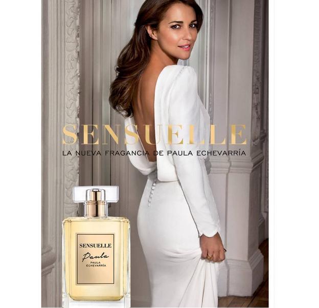 Paula Echevarría presenta el perfume Paula Sensuelle